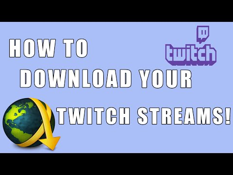 How To Download Your Twitch Live Streams!! (Past Broadcasts)(Windows/Mac/Linux)(JDownloader)