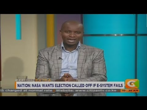 NASA wants elections called off if E-system fails #CitizenExtra