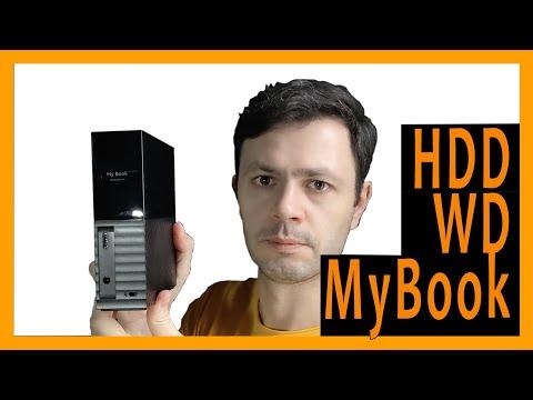 Жесткий диск Western Digital My Book (New) 4TB WDBBGB0040HBK-EESN 3.5 USB 3.0 External
