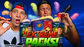 EATING VOMIT?! - CRAZY BEAN BOOZLED FIFA 15 TOTS PACK OPENING!