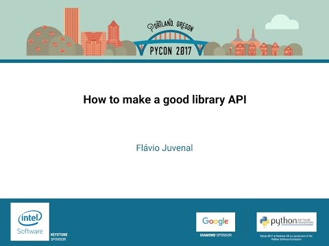 Image from How to make a good library API