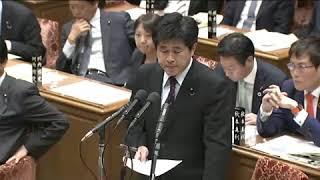 今井雅人・立憲 安倍の指さしヤジで中断の一幕も :11/6 衆院・予算委員会