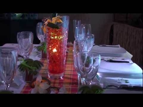 decorations mariage antillais madras traditionnel youtube. Black Bedroom Furniture Sets. Home Design Ideas