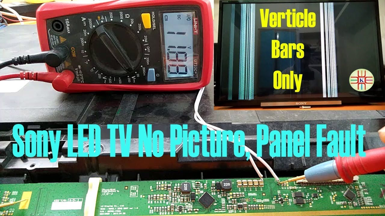 32` Sony LED TV Panel Fault  How to Check and Repair  Complete Detail in  Urdu/Hindi