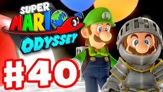Super Mario Odyssey - Gameplay Walkthrough Part 40 - Luigi's Balloon World DLC! (Nintendo Switch)