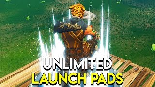 UNLIMITED LAUNCH PADS - Fortnite: Blitz Gamemode