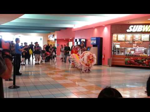 Guam Chinese New Year Dance at the Mall