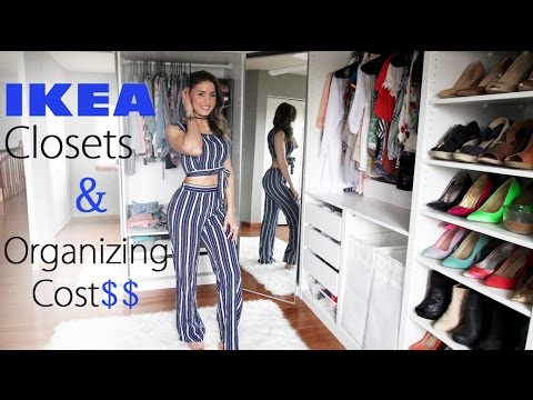 Ikea Pax Closet Set Up And Organizing Walk In Closet Details Vlog 91 Youtube