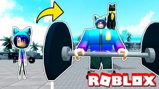 Werde der STRONGEST-Spieler in Roblox! Roblox Gewichtheben Simulator