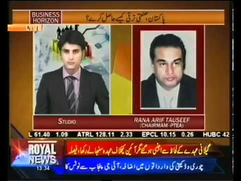 Suggestions for Economy Revival in Pakistan   Business Horizon 3 july 2012 SD