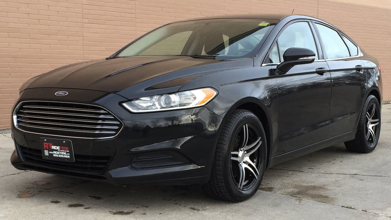 2015 Ford Fusion Rims >> 2014 Ford Fusion Se Automatic Alloy Wheels Siriusxm Great