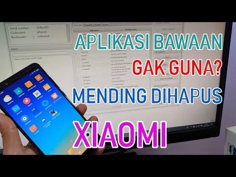 Cara hapus bloatware Xiaomi/ aplikasi bawaan pabrik yang gak berguna. Aplikasi bawaan apa saja yang .