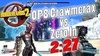 vuclip Borderlands 2   OP8 Crawmerax vs Zero In 2:27