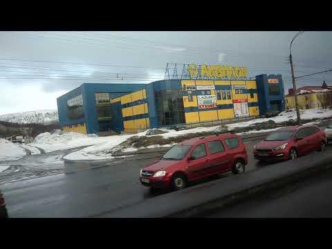 . Мурманск-Кольский проспект-Коминтерна. Поездка на автобусе по городу