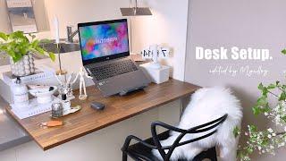 Desk setup 2021. 아일래드 식탁을 책상으로…