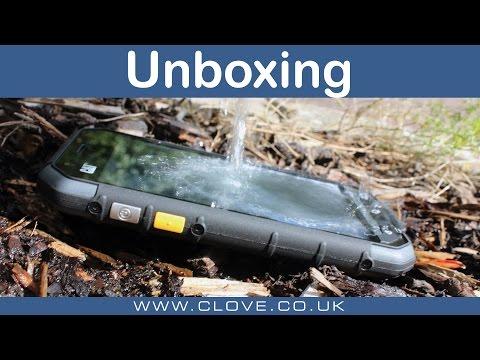 CAT S30 Unboxing