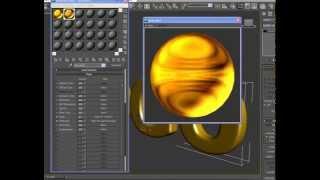 Tutorial 3D Max - Textura De Ouro