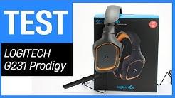 Das Logitech G231 Prodigy Gaming-Headset im Test - Teil 1 Unboxing & Vorstellung