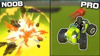 NOOB vs PRO Explosive Dodgeball! (Scrap Mechanic Gameplay)