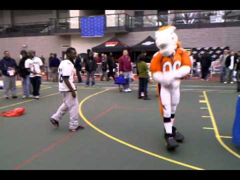 HYPE & Denver Broncos Mascot Dancing