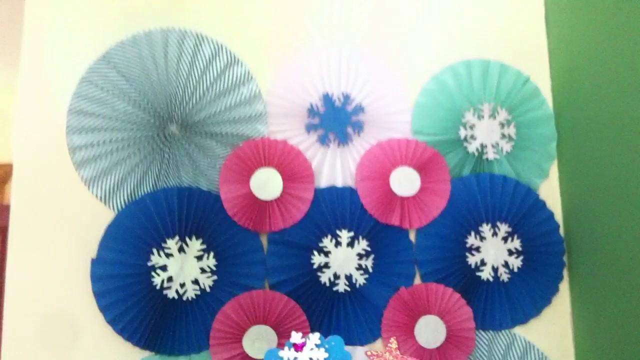 decoracion de cumpleaos de frozen
