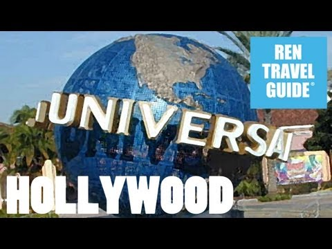 Universal Studios Hollywood  - Ren Travel Guide Travel Video