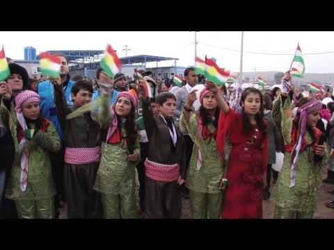 Iraq: Ban Ki-moon & the High Commissioner visit Syrian Refugees