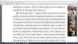18 | La Sotesana Instruo de Ŭonbulismo | 에스페란토 원불교 대종경 공부(zoom)