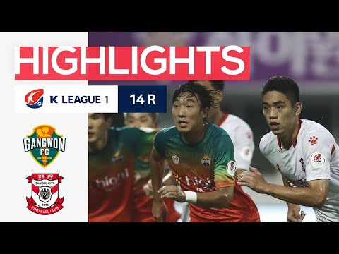 Gangwon Sangju Sangmu Goals And Highlights