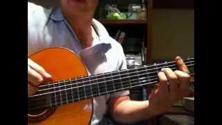 Lucía de Serrat, para Guitarra. Versión de María Parrado