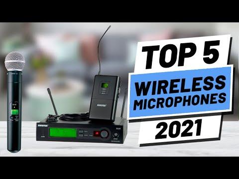 Top 5 BEST Wireless Microphone of [2021]