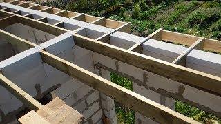 Простий спосіб самому побудувати вальмовий дах ч. 2