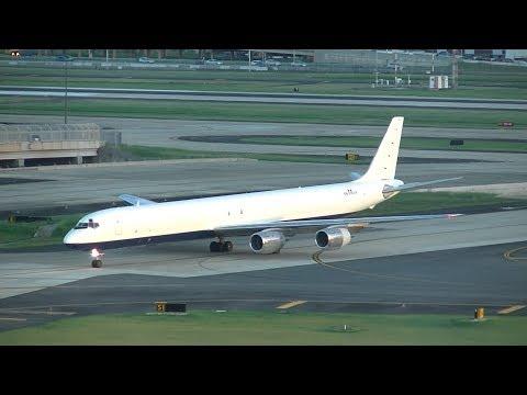 TJSJ Spotting: RARE DC-8-73F, Coast Guard C-37 & More!