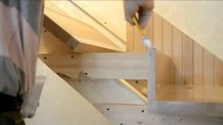 Изготовление и монтаж лестниц из дерева в Ростове-на-Дону и Краснодаре.(, 2014-07-18T15:46:22.000Z)