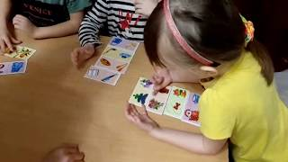 Позитивия 30 03 2019 Обучение в игровой форме в кругу детей воспитатель Наира Папян