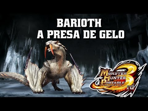 PSP - ► Monster Hunter Portable 3rd - Barioth