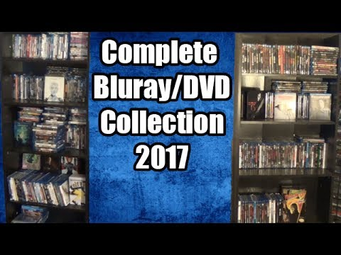 COMPLETE BLU-RAY DVD COLLECTION 2017