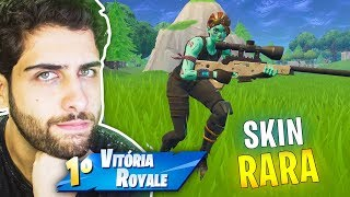 THE RAREST SKIN I HAVE AT FORTNITE: BATTLE ROYALE