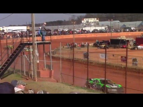 Hartwell Speedway Modified Street Heat Races 3/5/16