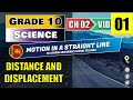 Grade 10 Science English :  Ch 2/1 Distance and Displacement