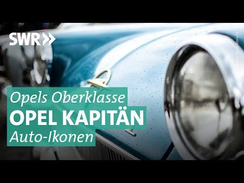 Auto-Ikonen: Opel Kapitän, der deutsche Straßenkreuzer