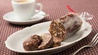 Kuchen Ohne Backen Kalter Hund Konfekt Schokosalami Ohne Kokosfett