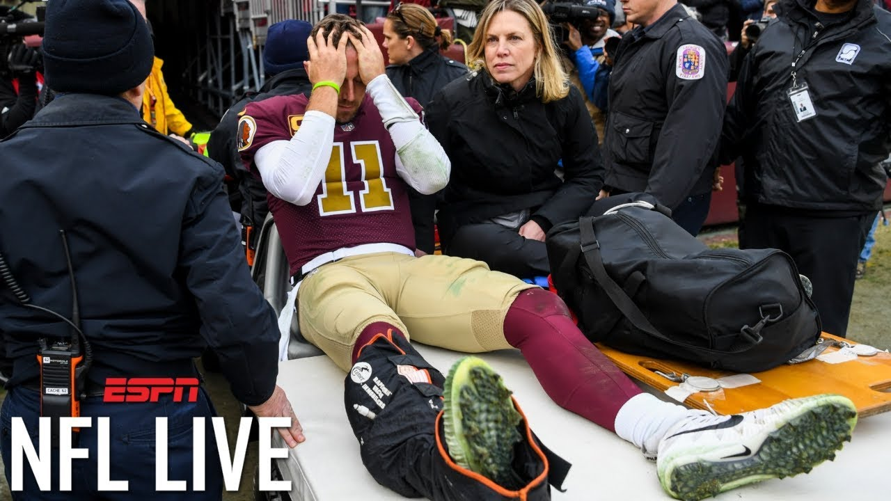 Alex Smith S Career In Question After Contracting Infection From Surgery On Broken Leg L Nfl Live Youtube