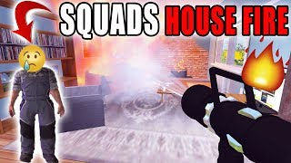 SAVING THE SQUADS HOUSE | FIRE FIGHTING | MULTIPLAYER | FARMING SIMULATOR 2017
