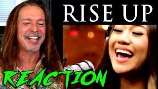 Vocal Coach Reaction to Rise Up - Morissette Amon - Ken Tamp...