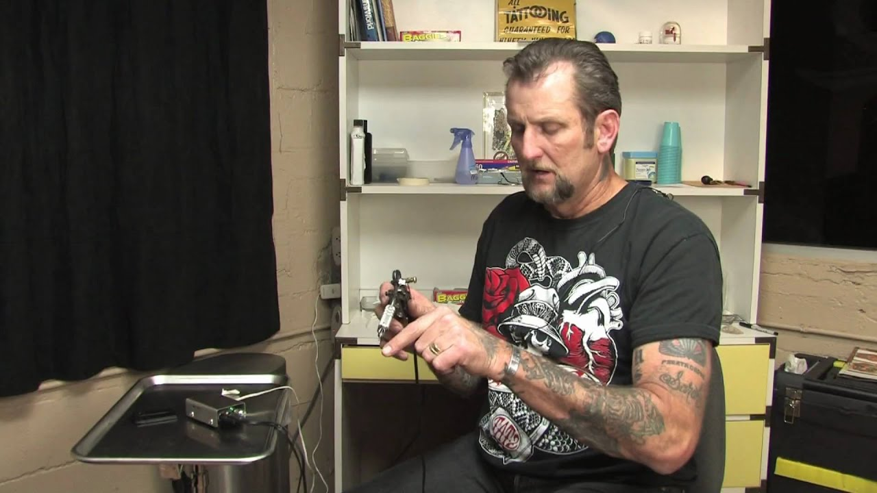 Tattooing make ink stick to a tattoo needle youtube for How to make a tattoo needle