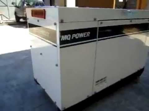 Trailer mounted MEP-803A 10KW Military Tactical Quiet Diesel