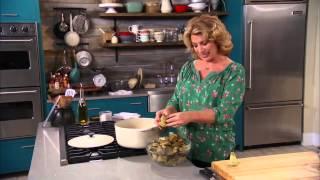 Steamed Artichokes With Lemon-garlic Aioli