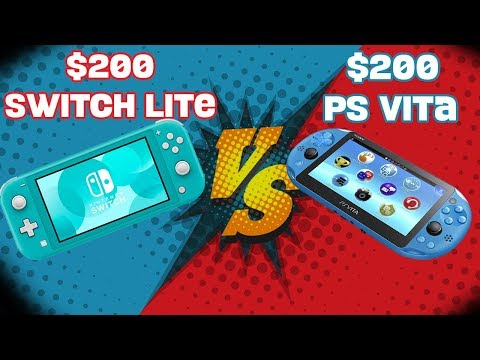 Who's The Handheld KING? Switch Lite Or PS Vita?
