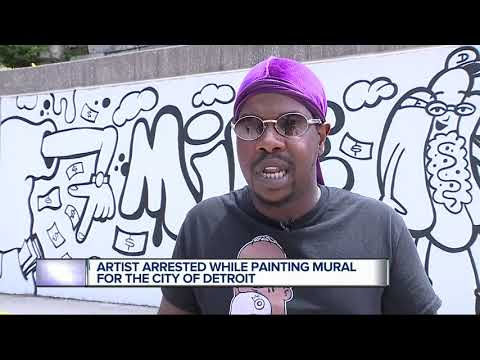 Chris Proctor - Graffiti Artist Arrested By Mistake